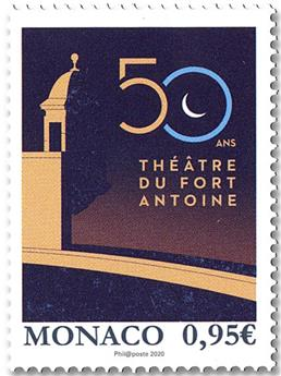 n° 3244 - Timbre Monaco Poste