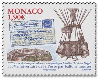 n° 3259 - Timbre Monaco Poste