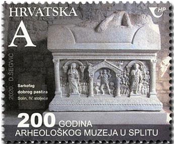 n° 1365 - Timbre CROATIE Poste