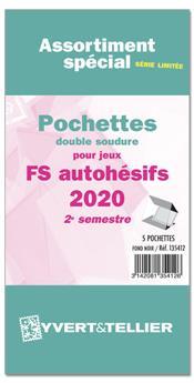 Assortiment de pochettes (double soudure) : 2020-2e sem. (Jeux Autoadhésifs)