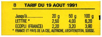 n°2715-C4B** - Timbre FRANCE Carnets