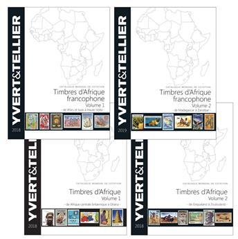 PACK AFRIQUE : Catalogue Afrique (Francophone et non francophone)