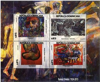 n° 2178/2181 - Timbre DOMINICAINE Poste