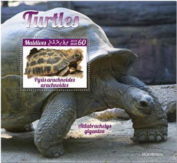 n° 1368 - Timbre MALDIVES Blocs et feuillets
