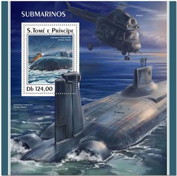 n° 1145 - Timbre SAINT-THOMAS ET PRINCE Blocs et feuillets