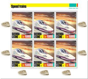 n° F9828/F9830 - Timbre SIERRA LEONE Poste