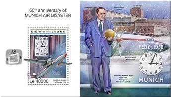 n° 1483 - Timbre SIERRA LEONE Blocs et feuillets