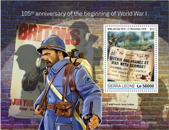 n° 1745 - Timbre SIERRA LEONE Blocs et feuillets
