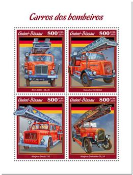 n° 8173/8176 - Timbre GUINEE-BISSAU Poste