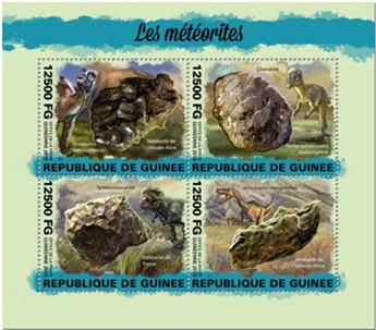 n° 10025/10028 - Timbre GUINEE Poste