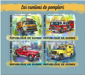 n° 10105/10108 - Timbre GUINEE Poste