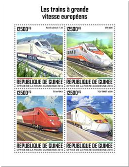 n° 10167/10170 - Timbre GUINEE Poste