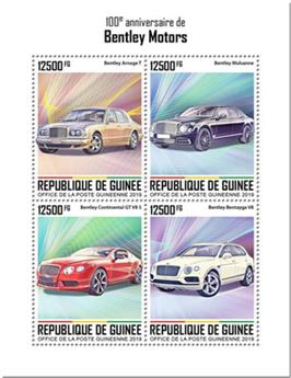 n° 10187/10190 - Timbre GUINEE Poste