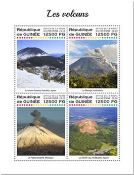 n° 10299/10302 - Timbre GUINEE Poste