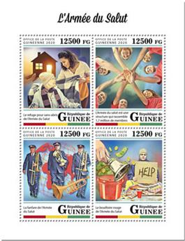n° 10359/10362 - Timbre GUINEE Poste