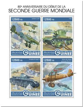n° 9973/9976 - Timbre GUINEE Poste
