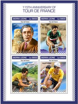 n° 8421/8424 - Timbre SIERRA LEONE Poste