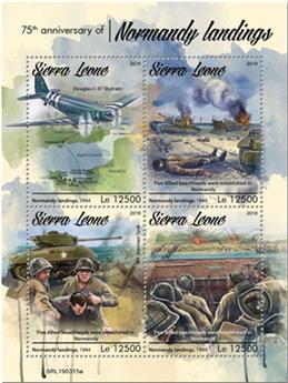 n° 8816/8819 - Timbre SIERRA LEONE Poste