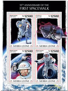 n° 9733/9736 - Timbre SIERRA LEONE Poste