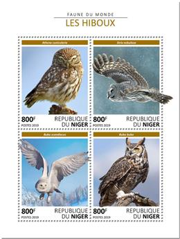 n° 5228/5231 - Timbre NIGER Poste