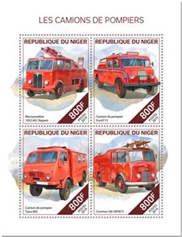 n° 5390/5393 - Timbre NIGER Poste