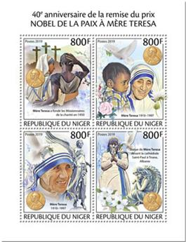 n° 5506/5509 - Timbre NIGER Poste
