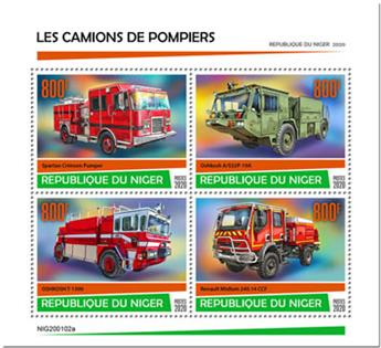 n° 5727/5730 - Timbre NIGER Poste