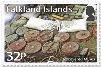 n° 1348/1351 - Timbre FALKLAND Poste