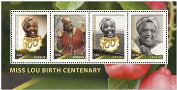 n° 61 - Timbre JAMAIQUE Blocs et feuillets