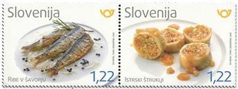n° 1211/1212 - Timbre SLOVENIE Poste