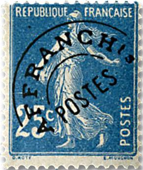 n° 56 -  Selo França Pré-obliterados