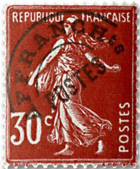 n° 61 -  Selo França Pré-obliterados