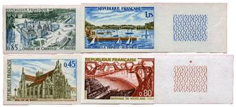 n°1582/1585** ND - Timbre FRANCE Poste