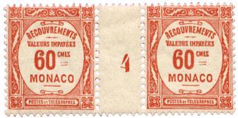 n°16** - Timbre MONACO Taxe