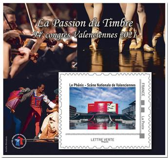 n° 19 - Timbre France FFAP