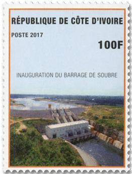 n° 1372/1373 - Timbre COTE D´IVOIRE Poste