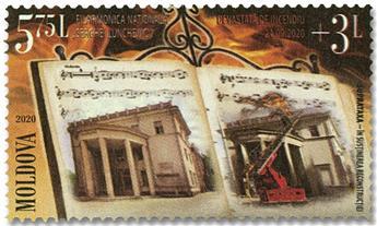 n° 1005 - Timbre MOLDAVIE Poste