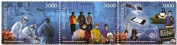 n° 3035/3037 - Timbre INDONESIE Poste