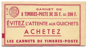 n°1011C-C1** - Timbre FRANCE Carnets