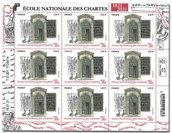 n° F14 - Timbre France Feuillets de France (n° 5472)