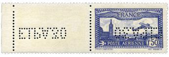 n.o 6c -  Sello Francia Correo aéreo