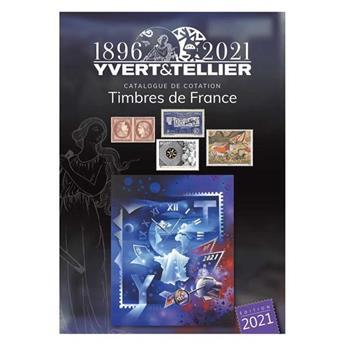 TOME 1 - 2021 (Catalogue des Timbres de France)