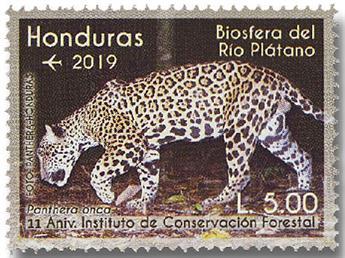 n° 1488/1491 - Timbre HONDURAS Poste aérienne
