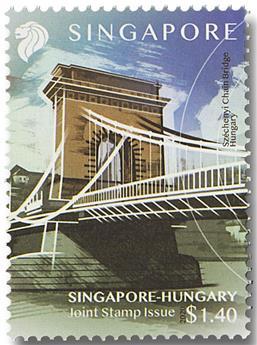 n° 2416/2417 - Timbre SINGAPOUR Poste