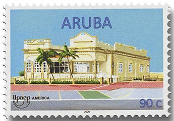 n° 1091/1094 - Timbre ARUBA Poste