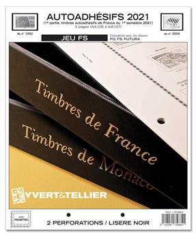 FRANCE AUTOADHESIFS FS : 2021 - 1ER SEMESTRE (Sans pochettes)