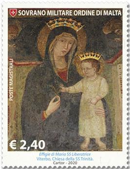 n° 1550 - Timbre ORDRE de MALTE Poste