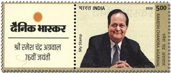 n° 3383 - Timbre INDE Poste