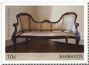 n° 1359/1362 - Timbre BARBADE Poste