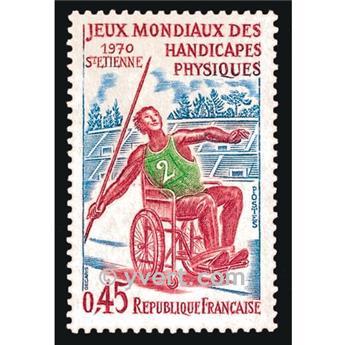 n.o 1649 -  Sello Francia Correos